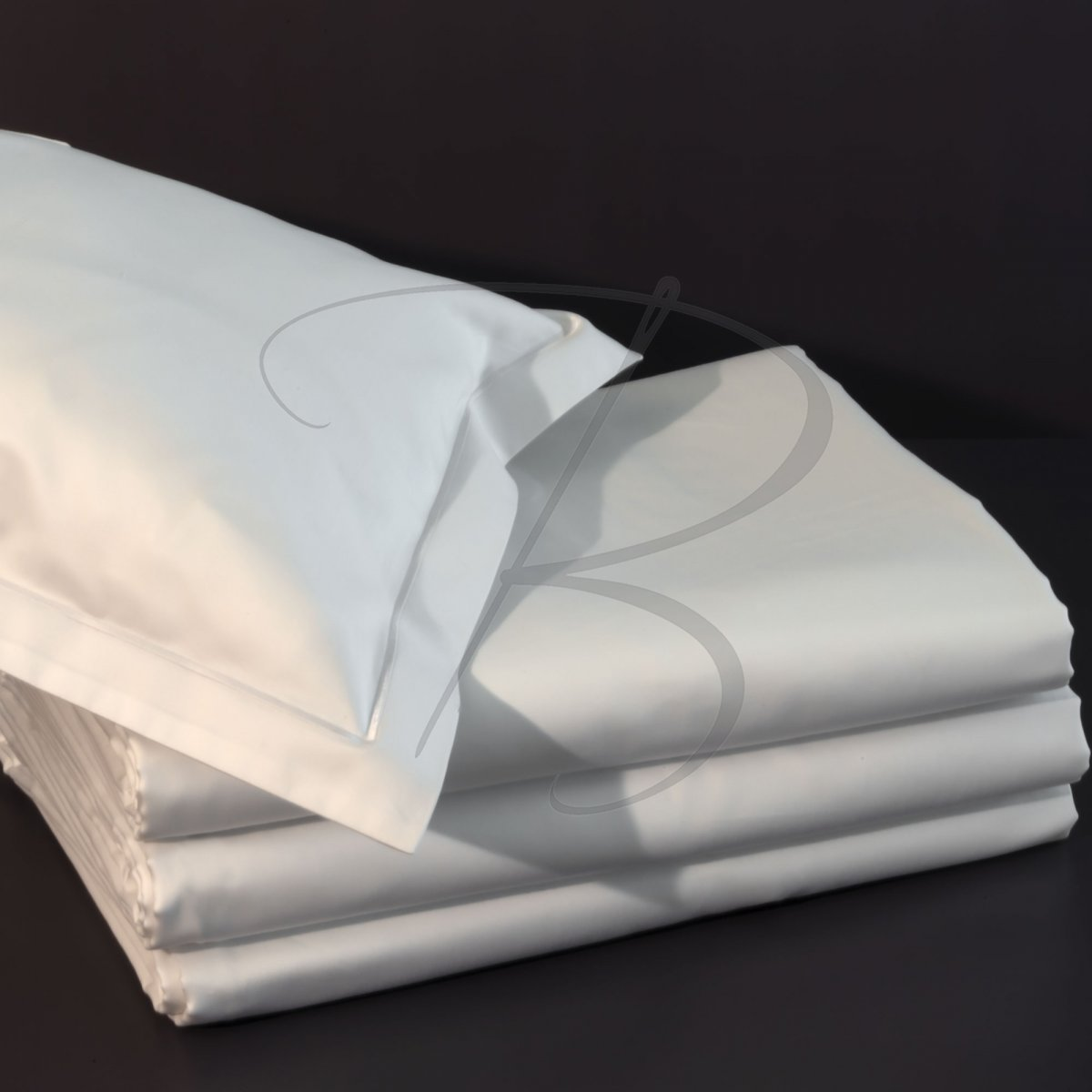 Cotton fitted sheet 400 - 140 x 190 - 140g/m² - 400TC