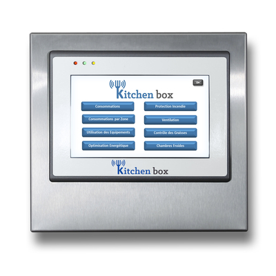Kitchen box ©: Centralized Technical Management (GTC) for professional kitchens